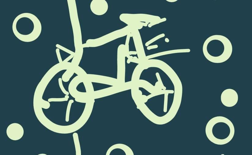 Als ich vom Fahrradfiel