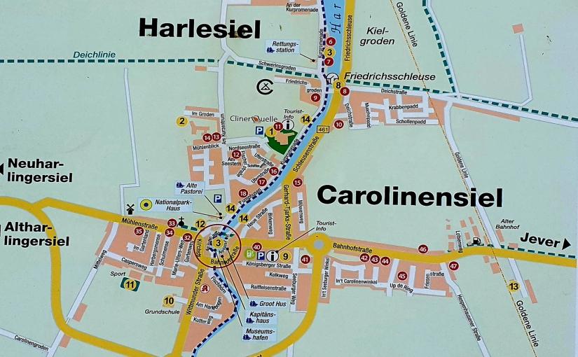Moin aus Ostfriesland:Carolinensiel