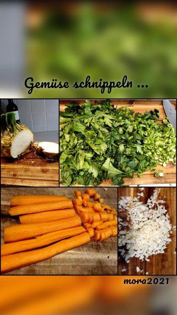 mora2021 Gemüse schnippeln ...